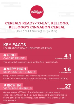 Cereals ready-to-eat, KELLOGG, KELLOGG'S CINNABON cereal