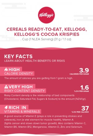 Cereals ready-to-eat, KELLOGG, KELLOGG'S COCOA KRISPIES