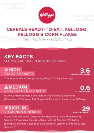 Cereals ready-to-eat, KELLOGG, KELLOGG'S Corn Flakes