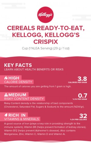 Cereals ready-to-eat, KELLOGG, KELLOGG'S CRISPIX