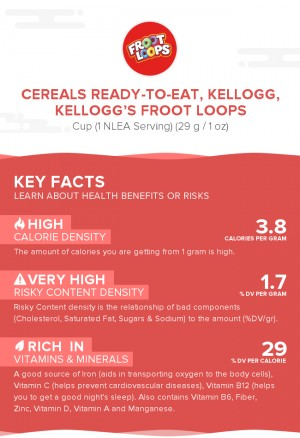 Cereals ready-to-eat, KELLOGG, KELLOGG'S FROOT LOOPS