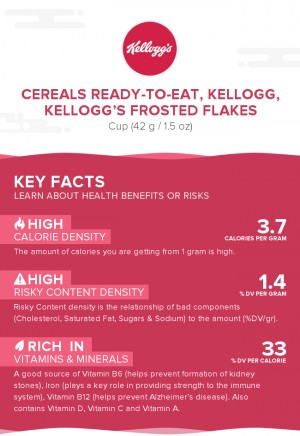 Cereals ready-to-eat, KELLOGG, KELLOGG'S FROSTED FLAKES