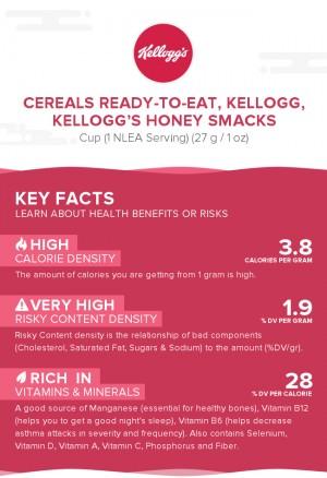 Cereals ready-to-eat, KELLOGG, KELLOGG'S HONEY SMACKS