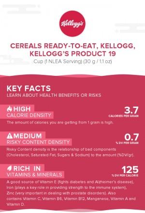 Cereals ready-to-eat, KELLOGG, KELLOGG'S PRODUCT 19