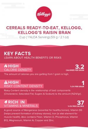 Cereals ready-to-eat, KELLOGG, KELLOGG'S RAISIN BRAN