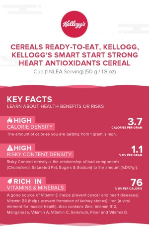 Cereals ready-to-eat, KELLOGG, KELLOGG'S SMART START Strong Heart Antioxidants Cereal