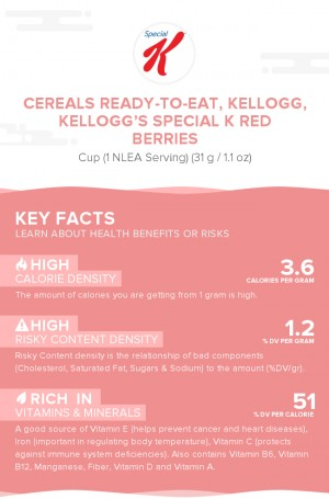 Cereals ready-to-eat, KELLOGG, KELLOGG'S SPECIAL K Red Berries
