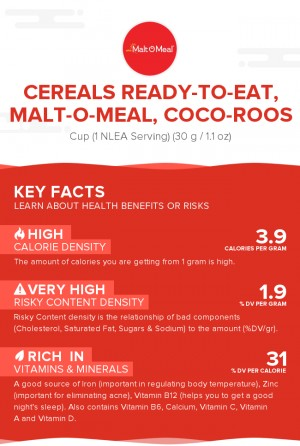 Cereals ready-to-eat, MALT-O-MEAL, COCO-ROOS