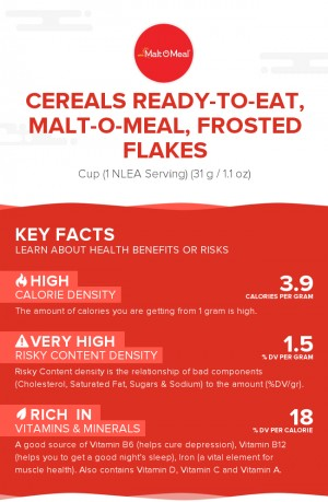 Cereals ready-to-eat, MALT-O-MEAL, Frosted Flakes