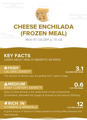 Cheese enchilada (frozen meal)