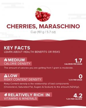 Cherries, maraschino