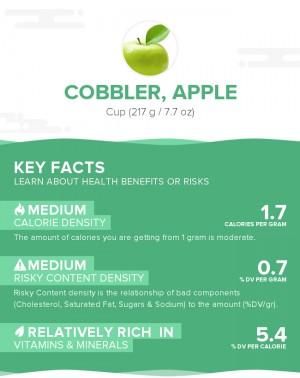 Cobbler, apple