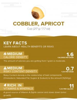 Cobbler, apricot
