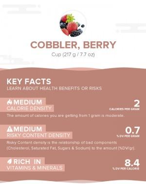 Cobbler, berry