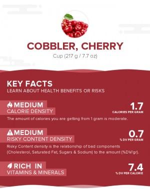Cobbler, cherry
