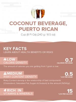 Coconut beverage, Puerto Rican