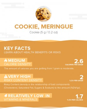 Cookie, meringue