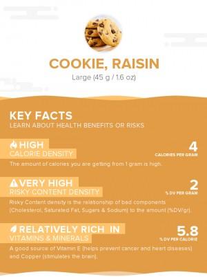 Cookie, raisin