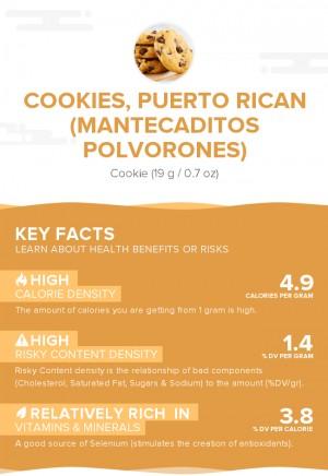 Cookies, Puerto Rican (Mantecaditos polvorones)