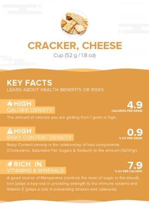 Cracker, cheese