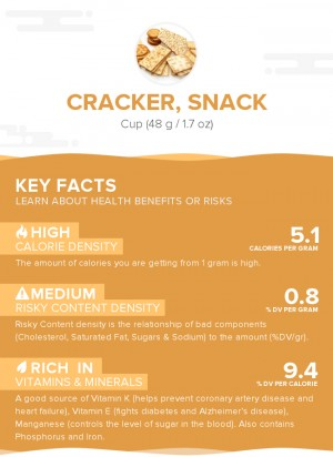 Cracker, snack