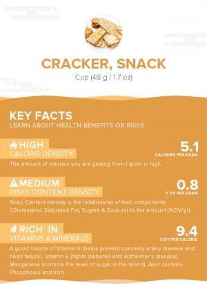 Cracker, snack