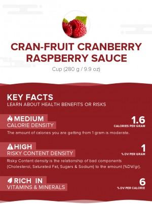 Cran-Fruit Cranberry Raspberry Sauce