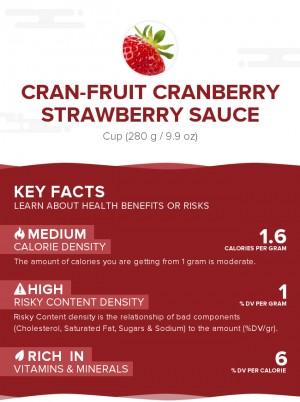 Cran-Fruit Cranberry Strawberry Sauce