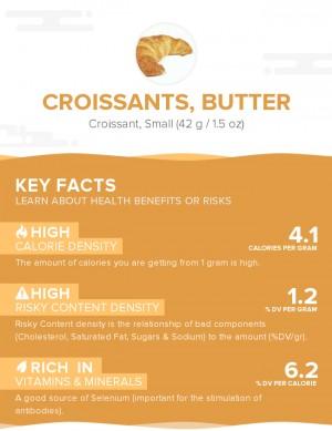 Croissants, butter