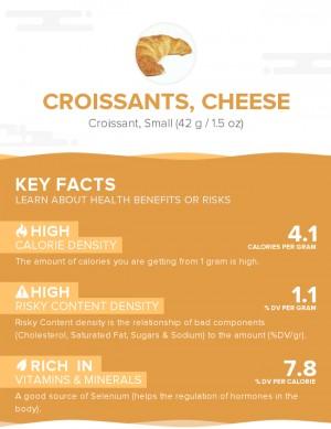 Croissants, cheese