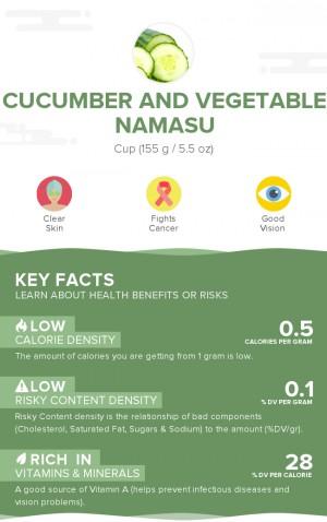 Cucumber and vegetable namasu