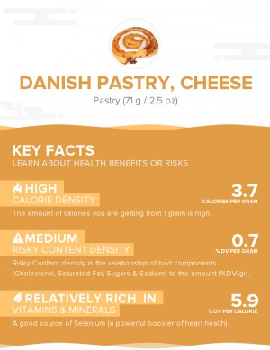 Danish pastry, cheese