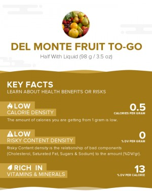 Del Monte Fruit To-Go