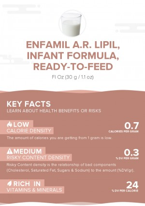Enfamil A.R. Lipil, infant formula, ready-to-feed