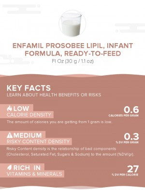 Enfamil ProSobee Lipil, infant formula, ready-to-feed