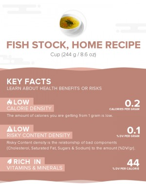 Fish stock, home recipe