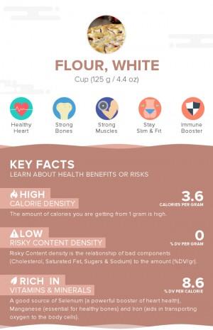Flour, white