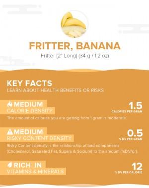 Fritter, banana