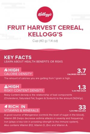 Fruit Harvest cereal, Kellogg's