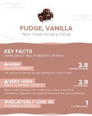 Fudge, vanilla