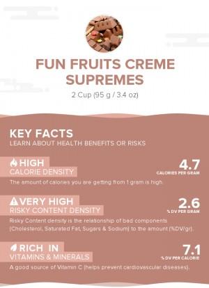 Fun Fruits Creme Supremes