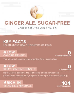 Ginger ale, sugar-free