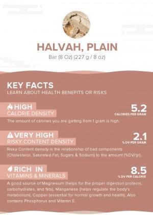 Halvah, plain