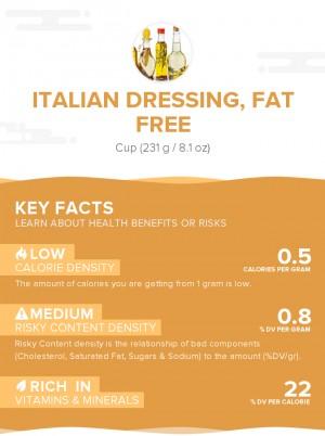 Italian dressing, fat free