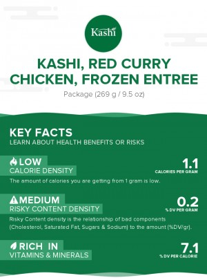 KASHI, Red Curry Chicken, Frozen Entree