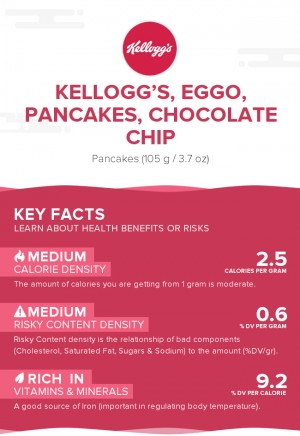 KELLOGG'S, EGGO, Pancakes, Chocolate Chip