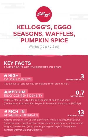 KELLOGG'S, EGGO Seasons, Waffles, Pumpkin Spice