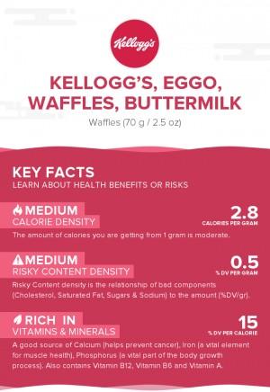 KELLOGG'S, EGGO, Waffles, Buttermilk