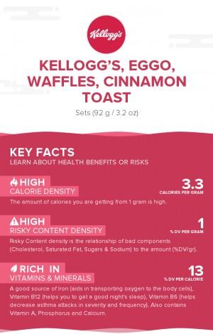 KELLOGG'S, EGGO, Waffles, Cinnamon Toast