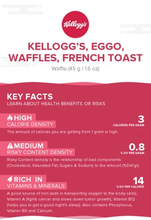 KELLOGG'S, EGGO, Waffles, French Toast